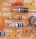 Electrónica de la vendimia Imagen de archivo libre de regalías