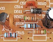 Electrónica de la vendimia Foto de archivo
