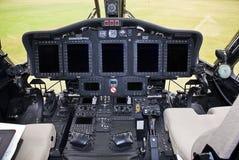 Electrónica de Sikorsky S-92 foto de archivo libre de regalías