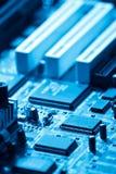 Electrónica del ordenador Imagen de archivo libre de regalías