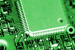 Electrónica del ordenador Fotografía de archivo libre de regalías