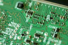 Electrónica del ordenador Foto de archivo libre de regalías
