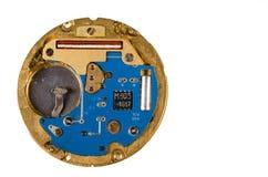 Electrónica del reloj Imagen de archivo