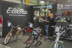Electra booth at Bike trade show Stock Photography
