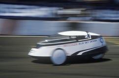 Electrathon samochodowa rasa przy Słonecznym i Energetycznym expo, CA Obraz Royalty Free