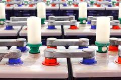 Electric accumulators. Royalty Free Stock Image