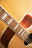 Electric acoustic guitar Stock Photo