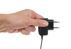 Electric adapter Royalty Free Stock Image
