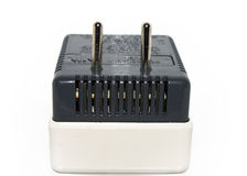Electric  adapter plug with fuse Royalty Free Stock Images