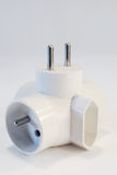 Electric adaptor Royalty Free Stock Image