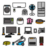 Electric appliances 01 Stock Photos