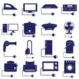 Electric appliances vector Stock Photo