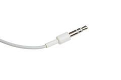 Electric Audio Plug Stock Photo