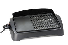 Electric Barbecue Grill Stock Photo
