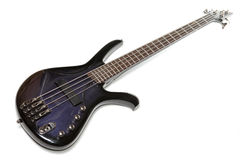 Electric bass-guitar Royalty Free Stock Images