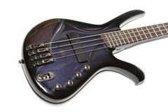 Electric bass-guitar Royalty Free Stock Photography