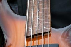 Electric bass guitar. Royalty Free Stock Photos