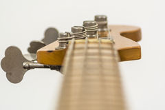 Electric bass head Stock Image