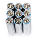 Electric battery AA Royalty Free Stock Photos