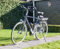 Electric bicycle in the sun Stock Images