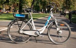 Electric bicycle Stock Photos