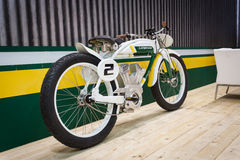 Electric bike at EICMA 2013 in Milan, Italy Stock Photo