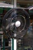 Electric black ventilator Royalty Free Stock Photos