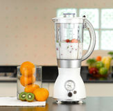 The electric blender. For make fruit juice or smoothie royalty free stock photo
