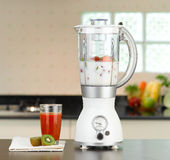 Electric blender. You can make smoothie at home by the electric blender Stock Photos
