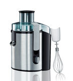 Electric blender with mixer on a white Royalty Free Stock Photos