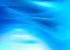 Electric blue. Abstract blue composition with flowing design vector illustration