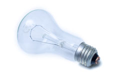 Electric blue bulb Royalty Free Stock Photo