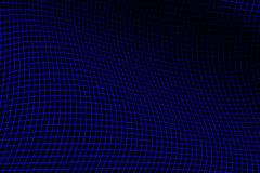 Electric Blue Grid Royalty Free Stock Photography