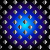 Electric blue grid texture Royalty Free Stock Photos