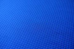Electric blue jacquard fabric royalty free stock photos