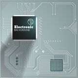 Eelectric board background Stock Photos