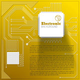 Eelectric board background Stock Images
