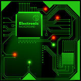Eelectric board background Stock Image