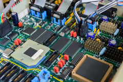Electric board technology Royalty Free Stock Image