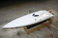 Electric boat model Stock Image