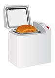 Electric bread maker Stock Photography