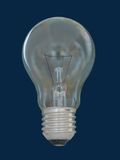 Electric bulb. On dark background Stock Photography