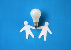 Electric bulb. Stock Photography