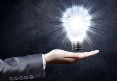 Electric bulb Royalty Free Stock Photo