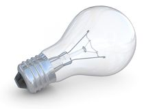 Electric bulb of glowing Royalty Free Stock Images