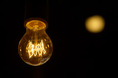 Electric bulb. Royalty Free Stock Images