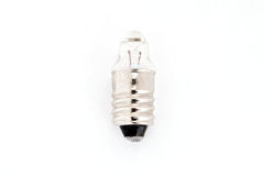 Electric bulb. On the white background stock photography
