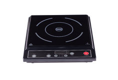 Electric burner on stove Royalty Free Stock Photo