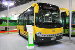 Electric  bus Royalty Free Stock Photo