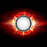 Electric button background illustration Stock Image